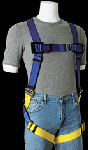 Gemtor 922 Lightweight, sub-pelvic, polyester full-body harness