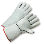 West Chester 930K Select Grey Split Cowhide Welder Kevlar Thread Gloves