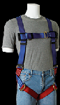 Gemtor 932 Harness, Back D Ring, Friction buckle leg straps
