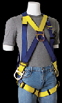 Gemtor 933 Harness Front D-ring Pass-Thru Buckles For Climbing, Positioning, Suspension or Rescue