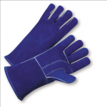 West Chester 945 Premium Blue Split Cowhide Leather Welder Gloves