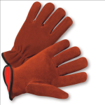 West Chester 988KF Select Split Cowhide Leather Flannel Lined Driver Gloves