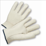 West Chester 990 Select Grain Cowhide Leather Driver Straight Thumb Gloves