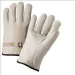 West Chester 990LS Leather Strap Select Grain Cowhide Driver Gloves