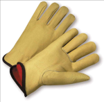 West Chester 9940KF Select Grain Pigskin Leather Flannel Lined Driver Gloves