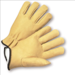 West Chester 994KP Select Grain Pigskin Leather Driver Gloves with Positherm Lining