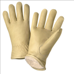 West Chester 999KT Premium Top Grain Cowhide Leather Thinsulate Lined Driver Gloves