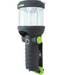 Blackfire® 260 Lumens Black/Green LED Lantern/Flashlight - 3AA Not Included