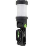 Blackfire® 125 Lumens Black/Green LED Lantern/Flashlight - 3AAA Not Included
