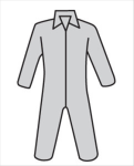 West Chester C3900 Posi M3 Gray Basic Coverall