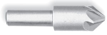 Chatterless Countersink 120 Degree, 4 Flute HSS