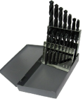 1/16 - 1/2 Drill America HSS Jobber Drill Bit Set, 15 Pieces (1/32 Increments): Made in USA