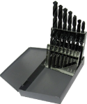 1/16 - 1/2 HSS Split Point Jobber Drill Bit Set, 15 Pieces (1/32 Increments), Drill America Made in USA