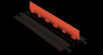 Checkers GD2X75-ST-O/B 2 Channel Protector with Standard Ramps - Orange/Black (Low Profile)