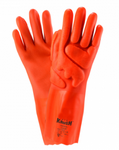 West Chester Impact Protected PVC Interlock Rough Grip Chemical Resistant Gloves