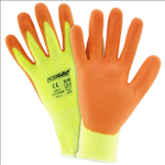 West Chester HVY710HSNF Hi Vis Yellow HPPE Orange Foam Nitirle Palm Coated Gloves
