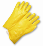 "West Chester J1027RY Semi Rough PVC Jersey Lined 12"" Gloves"