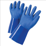 West Chester J1327 Triple Dip Rough PVC-Coated Interlock Gloves