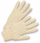 West Chester Premium 10 Gauge Natural White Polyester/Cotton String Knit Gloves