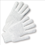 West Chester K710SBW Bleach White Medium Weight String Knit Work Glove