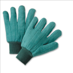 West Chester KG22SI Green Chore Rayon Lined Gloves