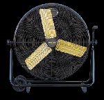 "Master MAC-30-DDF 30"" Direct-Drive Fan on Cart"