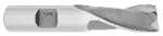 Metric End Mill Single End, 2 Flute
