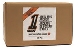 1Shot™ Steel Stud Anchor - 500 Count