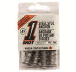1Shot™ Steel Stud Anchor - 4 Pack
