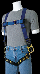 Gemtor VP104 Full-Body Harness with Hip D-rings & Tongue Buckles