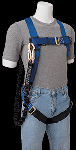 Gemtor VP101-2 Harness with Attached No Pack Energy Absorbing Lanyard 4 Ft