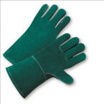 West Chester 940 Premium Green Side Split Cowhide Leather Welder Gloves