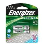 Energizer® 2 Pack - Recharge® Rechargeable AAA Batteries