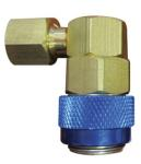 "ATD 3654 A/C Service Couplers, R134a Low Side 1/4"" FL-M x 13mm connection"