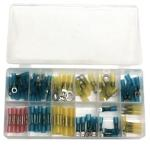 ATD 383 75 Piece Heat Shrinkable Terminal Assortment