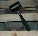 ATD 4043 32 oz. Rubber Mallet with Fiberglass Handle