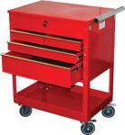 ATD 7045 Professional 4-Drawer Service Cart, Red