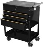 ATD 7046 Professional 4-Drawer Service Cart, Black
