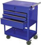 ATD 7047 Professional 4-Drawer Service Cart, Blue