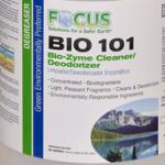 Focus BIO 101 Bio-Zyme Cleaner/Deodorant (1 Case / 4 Gallons)