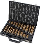 Titan 170 pc. Titanium Coated Drill Bit Set