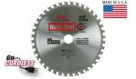 "6-1/2""- 40T: MK Morse Metal Devil® CL Circular Saw Blades"