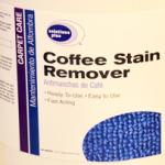 ACS 6119 Coffee Stain Remover (1 Case / 4 Gallons)