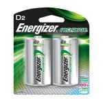 Energizer® 2 Pack - Recharge® Rechargeable D Batteries