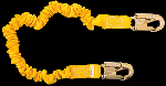 Gemtor D11ELZ6 Stretch Energy Absorbing Lanyards without pack. 6 Ft