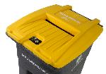 Toter Flat Lid w/ Document Slot- 64 gallon