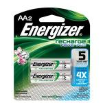 Energizer® 2 Pack - Recharge® Rechargeable AA Batteries