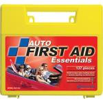 138-Piece Auto First Aid Kit, Plastic Case