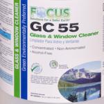 Focus GC 55 Glass & Window Cleaner (1 Case / 4 Gallons)