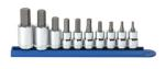 "KD Tools 80578 10 pc. 3/8"" and 1/2"" Dr. Metric Hex Bit Socket Set"